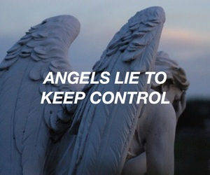 angel, Lyrics, and quote image