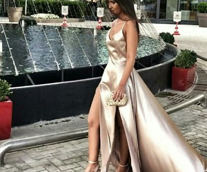 dress, elegant, and fashion image