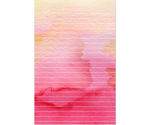 colorful, lined paper, and pink image