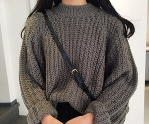 fashion, sweater, and kfashion image