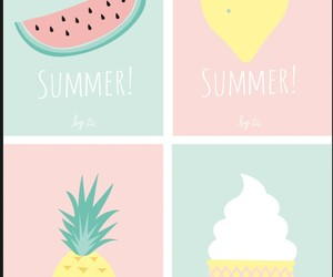 summer, wallpaper, and fruit image