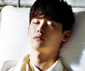 korean, korean actor, and lee jong suk image