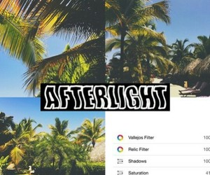 afterlight filter image