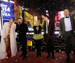 miley cyrus, new year, and macklemore and ryan lewis image