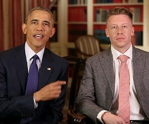 barack obama, usa, and macklemore image
