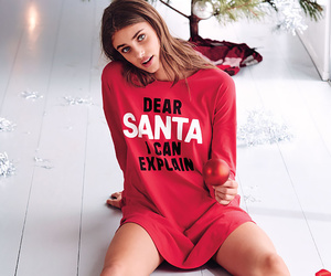 christmas, santa, and Victoria's Secret image