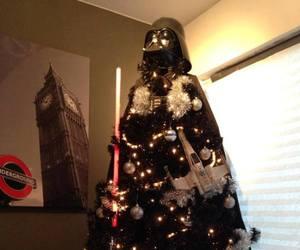 star wars, christmas, and tree image