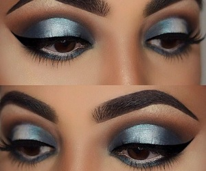 eyes, metallic, and beautyful image