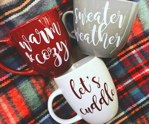 winter, christmas, and mug image