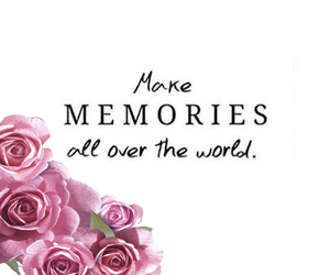 frases, memories, and roses image