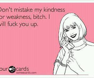 card, kindness, and weakness image