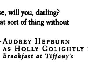 audrey hepburn, Breakfast at Tiffany's, and darling image