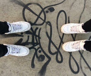 nike, air force, and bff image