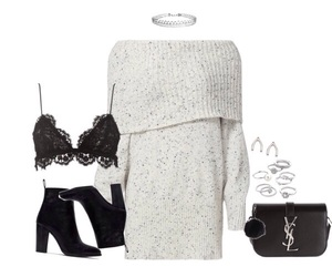 Christmas party, fashion, and Polyvore image