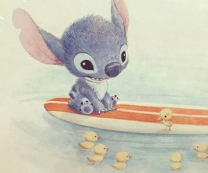 art, disney, and stitch image