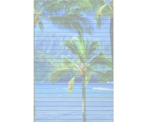 exotic, hawaii, and lined paper image