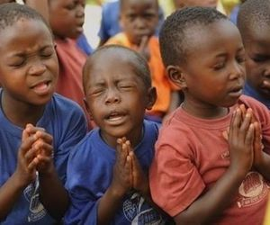 child, kids, and pray image