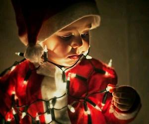 christmas, baby, and light image