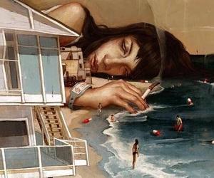 drugs, art, and beach image