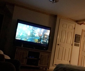 living room, movie time, and the bfg image