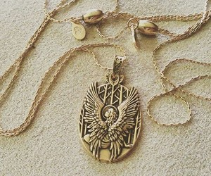 gold, neckless, and alex and ani image