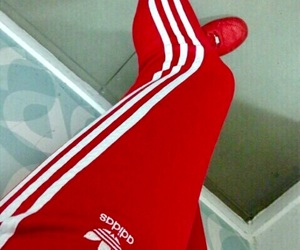 adidas, lit, and red image