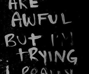 quotes, teen problems, and vibes image