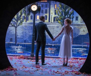 dancing, painting, and damien chazelle image