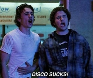 freaks and geeks, james franco, and disco image