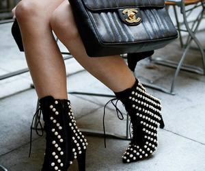 chanel, fashion, and jeffrey campbell image