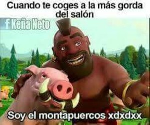 clash of clans, chistes, and humor negro image