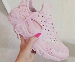 pink, nike, and pastel image
