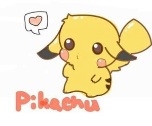 pikachu and sweet image