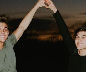 ethan dolan, grayson dolan, and dolan twins image