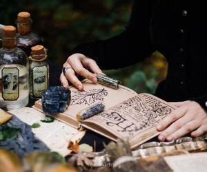 book, magic, and witchcraft image