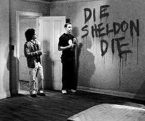 the big bang theory, sheldon, and die image