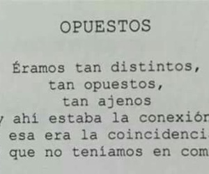 frases, opuestos, and amor image