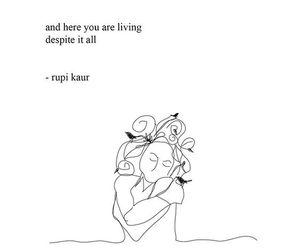 quotes, life, and rupi kaur image
