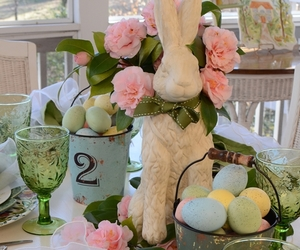 easter table setting image