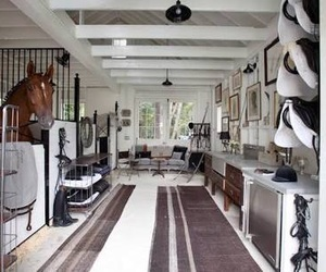 stable, horses, and tack room image
