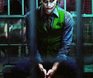 joker, the joker, and heath ledger image
