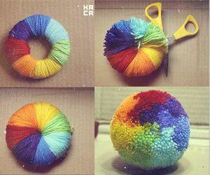 diy, rainbow, and ideas image