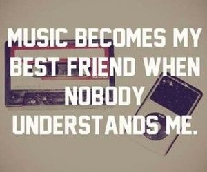 music, music is my life, and music is the answer image