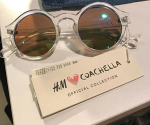 coachella, festival, and glasses image
