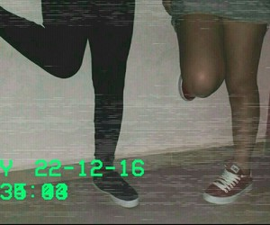 best friends grunge vhs image