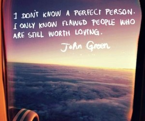 deep, imperfect, and john green image