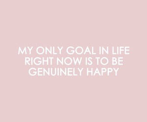 happy, pink, and quote image