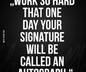 autograph, quotes, and work image