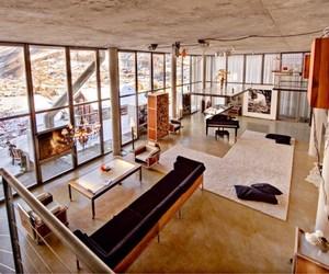 loft, house, and interior image