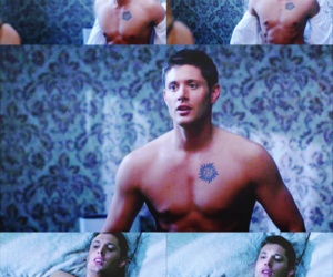 dean, supernatural, and dean winchester image